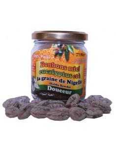Bonbons nigelle et Miel eucalyptus pot 150g