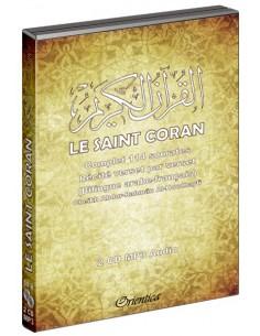 Le Saint Coran Complet - Récité verset par verset en arabe et en français (114 sourates - 2CD MP3)