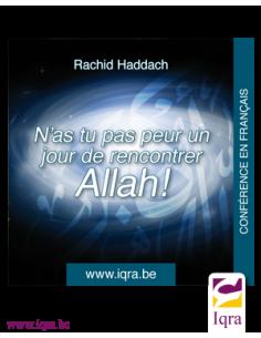 CD- N'as tu pas peur un jour de rencontrer Allah