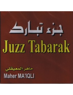 Juzz Tabaraka - Maher Maaiqli - CD