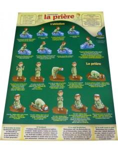 Poster : Comment faire la prière et les ablutions