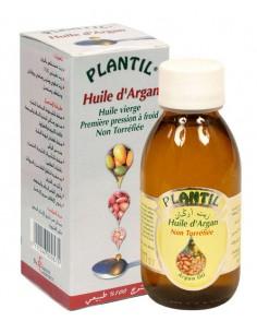 Huile d'Argan Plantil première pression à froid - non torréfiée - flacon de 125 ml