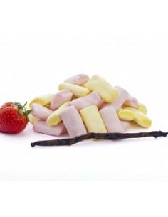 Marshmallows Vanille Sans colorants artificiels, Sans gélatine animale, Sans gluten, Sans OGM