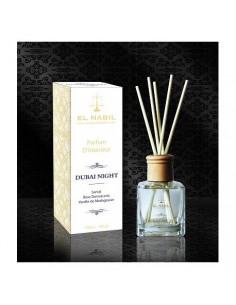 Diffuseur de Parfum d'ambiance Dubai Night: Santal, Rose de Damas et Vanille de Madagascar.