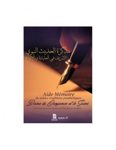 Aide-Mémoire de Nobles Traditions Prophétiques dans la Croyance et le Suivi