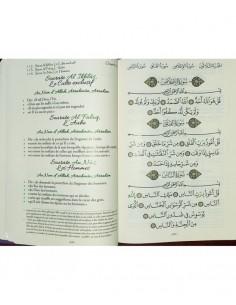 Le Coran - Arabe et Français - Couverture Daim Souple Rose Pâle - Edition Sana